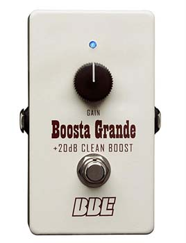 10). Boosta Grande BBE Clean Boost
