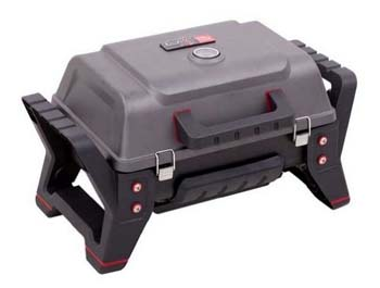 8). Char-Broil Portable Grill 2GoX200 Tru-Infrared LPG Grill