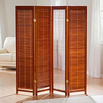 7. Finley Home Wooden Room Divider