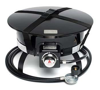 6. Outland Firebowl 893-Deluxe Outdoor Portable (Propane Gas) Fire Pit