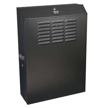 1. Tripp Lite 5U Vertical Wall Mount Enclosure Cabinet