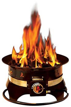 1. Outland Firebowl 870-Premium Outdoor-Portable (Propane Gas) Fire Pit