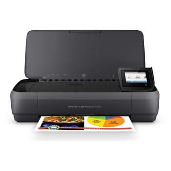 1: HP OfficeJet 250 All-in-One Portable Printer