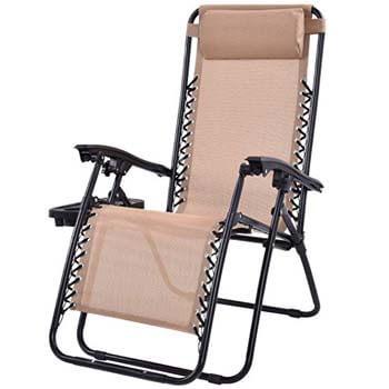 7. Goplus Folding Reclining chair