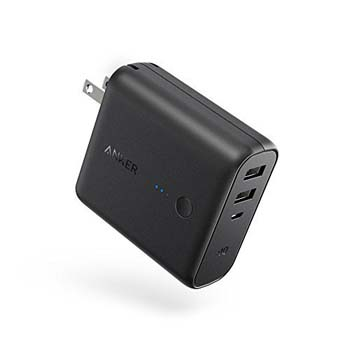 6. PowerCore Fusion, Portable Charger by Anker
