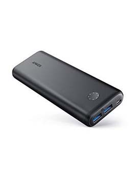 4. PowerCore II 20000, 20100mAh Portable Charger by Anker