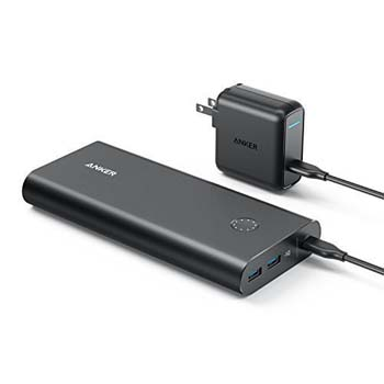 3. PowerCore+ 26800 PD Portable Charger with 30W Power Delivery by Anker
