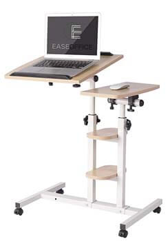 6. Ease Office Mobile Laptop Desk