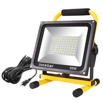 3. Ustellar 4500LM 50W LED work light