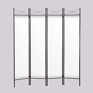 4. Lazymoon 4-Panel Room Divider