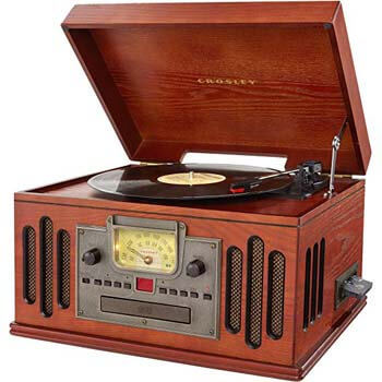 06. Crosley CR704D-PA Turntable Entertainment Center