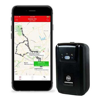 8. Real Time GPS Tracker with Live Audio Monitoring by Logistimatics
