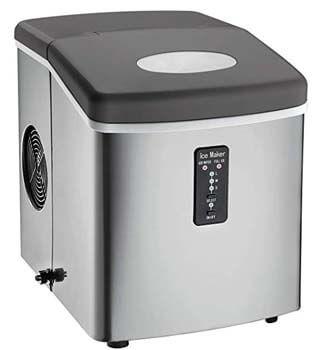 2. Igloo ICE103 Stainless Steel Ice Maker
