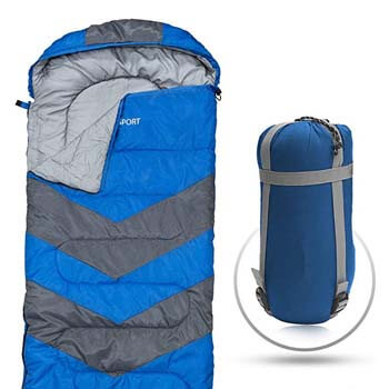 2). Abco Tech Sleeping Bag