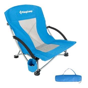 1. KingCamp Folding Beach Camping Chair