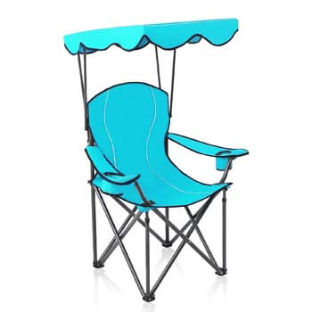 9. Alpha Camp Shade Canopy Camping Chair