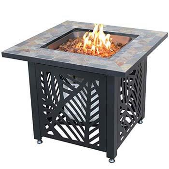 4. Endless Summer GAD-15258SP-LP Gas-Outdoor Fire Table