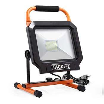 1. Tacklife 5000lm LED work light