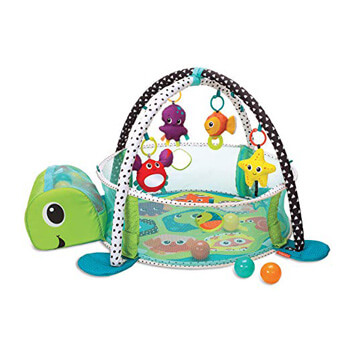2. Infantino 3-in-1 Grow with me Activity Gym and Ball Pit