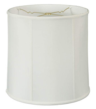 10. Royal Designs BS-719-15WH Basix Drum Lamp
