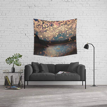 1. Society6 Wall Tapestry, Size Medium: 68