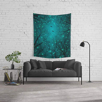 9. Society6 Wall Tapestry, Size Medium: 68