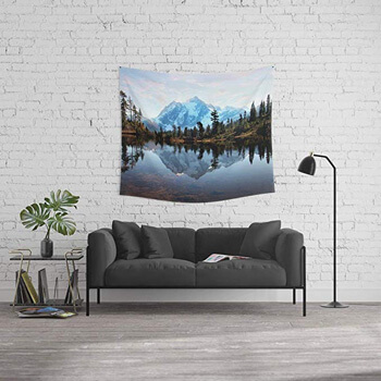 8. Society6 Wall Tapestry, Size Medium: 68