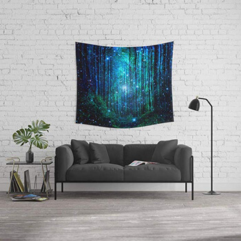 7. Society6 Wall Tapestry, Size Medium: 68