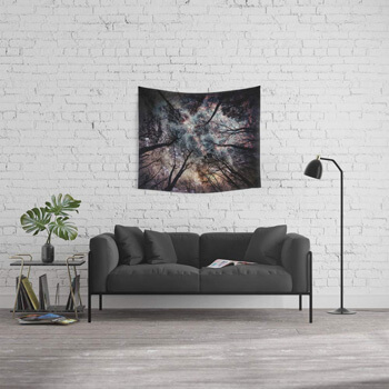 10. Society6 Wall Tapestry, Size Small, 51