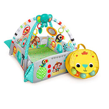 7. Bright Starts 5-in-1 Your Way Ball Play Activity Gym