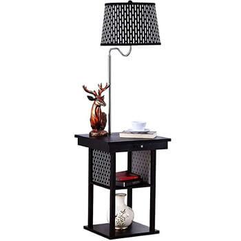 4. Brightech Madison – Mid Century Modern Lamp, Black
