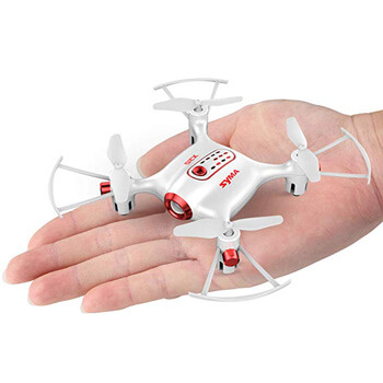 2. Newest Syma X20 Mini Pocket Drone