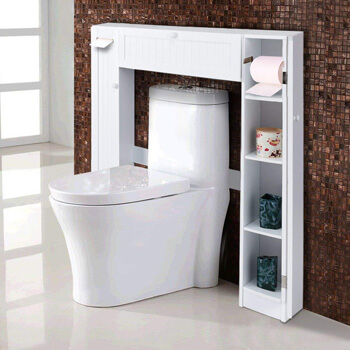 4. Giantex Over-The-Toilet Bathroom Storage Cabinet