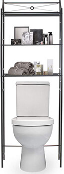 10. Sorbus Bathroom Storage Shelf over Toilet