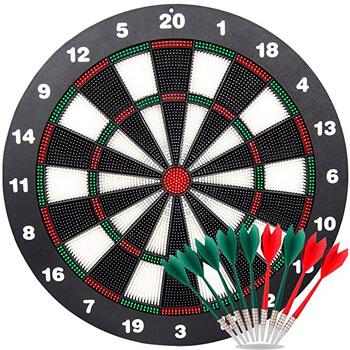 6. Ylovetoys Dart Board