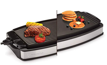 5. Wolfgang Puck Electric Reversible Grill and Griddle