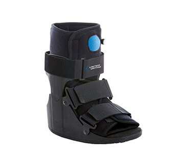 5. United Ortho Short Air Cam Walker Fracture Boot
