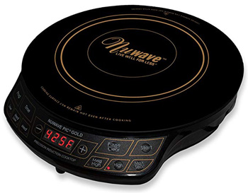 8. Max Burton 6200 Maxi-Matic Deluxe 1800-Watt Induction Cooktop, Black