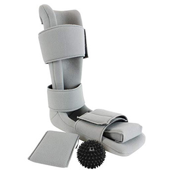 6. Plantar Fasciitis Night Splint by Vive - Soft Medical Brace Boot