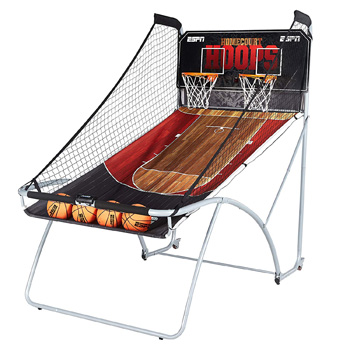 4. ESPN EZ Fold Indoor Basketball Game