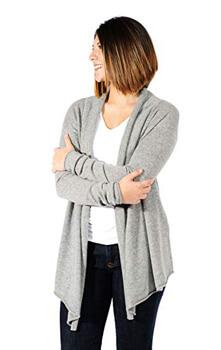 5. Gigi Reaume 100% Cashmere Soft Womens Cardigan Sweater