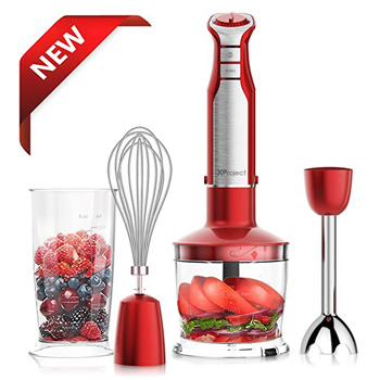 4. Xproject 800W 4-in-1 Hand Blender