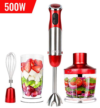 6. KOIOS Powerful 500watts Immersion Blender