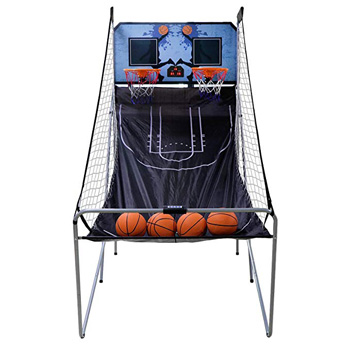 7. Nova Microdermabrasion Foldable Indoor Arcade Basketball Game