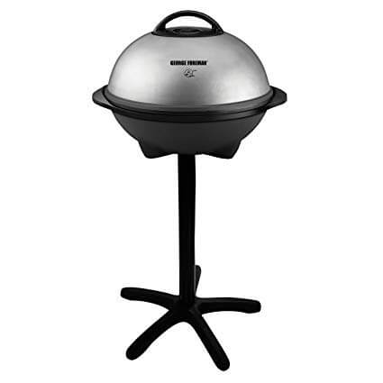 1. George Foreman 15-Serving Indoor/Outdoor Electric Grill