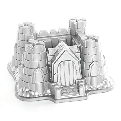 10. Nordic Ware Pro Cast Castle Bundt Pan
