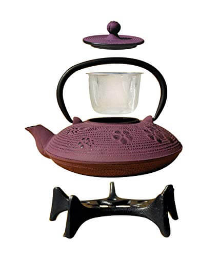 5. Old Dutch Greek Wine Cast Iron Kamakura Teapot