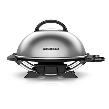6. George Foreman 15-Serving Indoor/Outdoor Electric Grill
