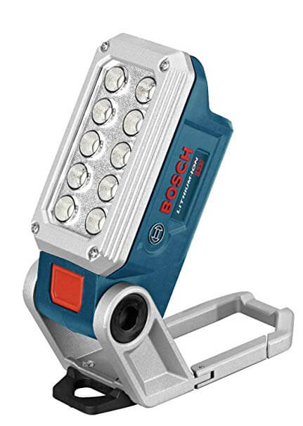 2. Bosch 12-Volt Max LED Cordless Work Light FL12
