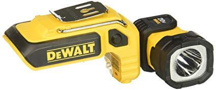 6. DEWALT DCL044 20V Max LED Hand Held Work Light